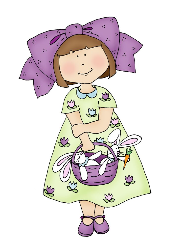 Free Dearie Dolls Digi Stamps: Spring Girl check it out...she makes a lovely colouring page for any little girl to work on, as well as a great applique or embroidery option.