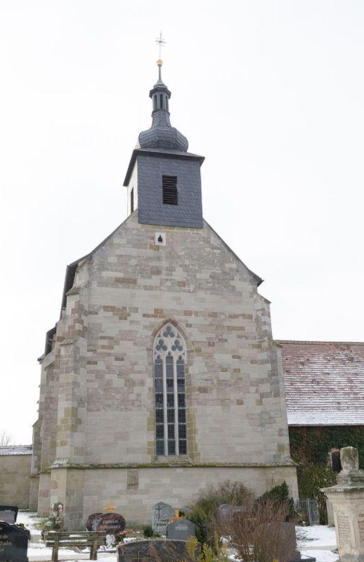 Neustadt an der Aisch-Birkenfeld, Evan.Luth. Filialkirche St. Maria (ehem. Klosterkirche Zisterzienserinnenkloster) (Neustadt an der Aisch-Bad Windsheim) BY DE
