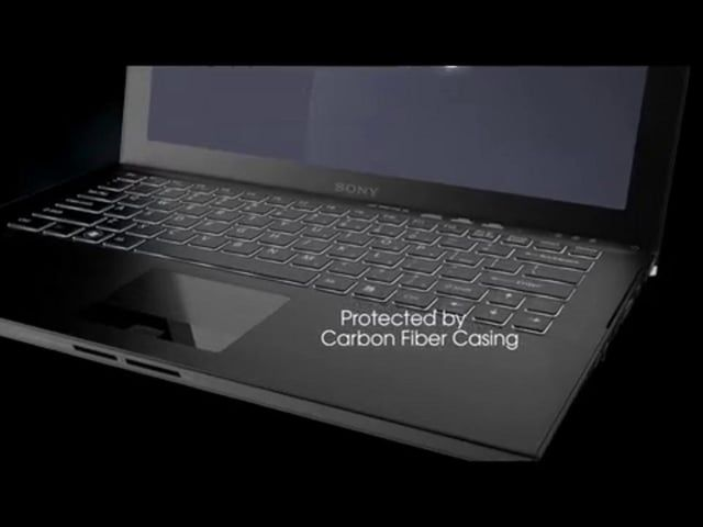 Full 360º CG animation of the Sony Z laptop to highlight all of it's product features.