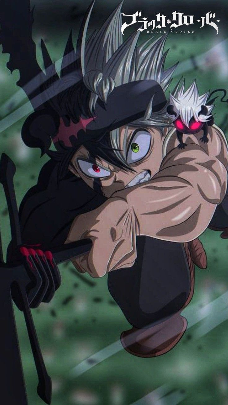 Clover 3, Black Clover Manga, Black Cover, Dark Wallpaper, Manga Boy, Slayer Anime, All Anime, Anime Shows, Anime Naruto