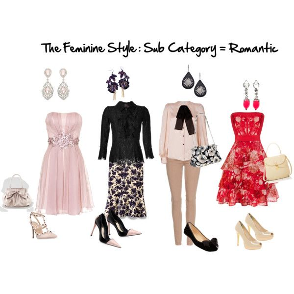 The Feminine Style Sub Category Romantic By Firstimpress On Polyvore Style Preferences