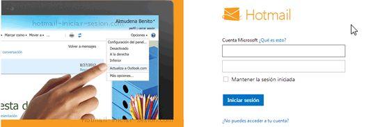 Hotmail Iniciar Sesion: Iniciar sesión