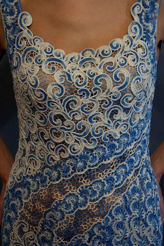 Letras e Artes da Lalá: vestido de crochê