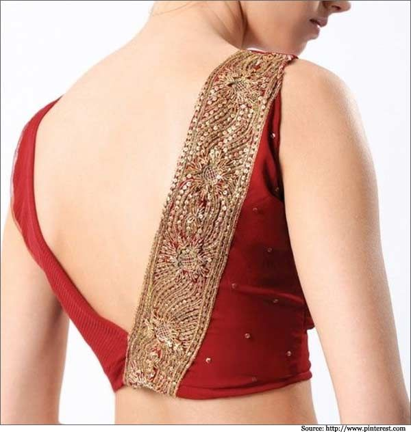 Women have to take care of every little detail in their outfit, you will love this list of 22 back neck blouse designs.