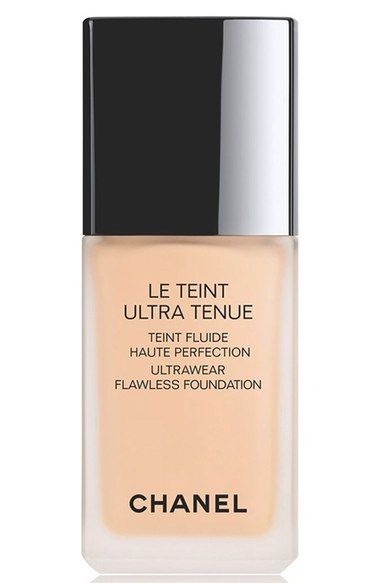 CHANEL LE TEINT ULTRA TENUE - Ultrawear Flawless Foundation available at #Nordstrom - HONESTLY One of their best foundations!!
