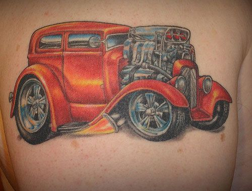 car tattoos | Cool Car