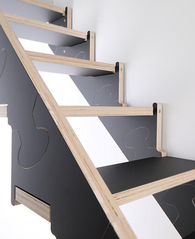Best Klapster Die Klappbare Raumspartreppe Treppe 400 x 300