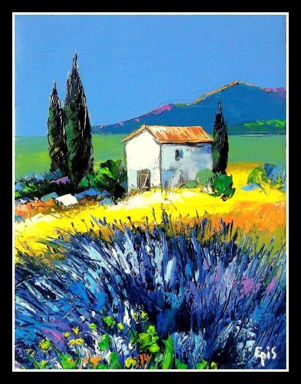 233 best Art PEINTURE PAYSAGES images on Pinterest | Paintings ...