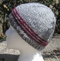 I love to knit and this is a great pattern.  I knit and donate to our local homeless shelter..
