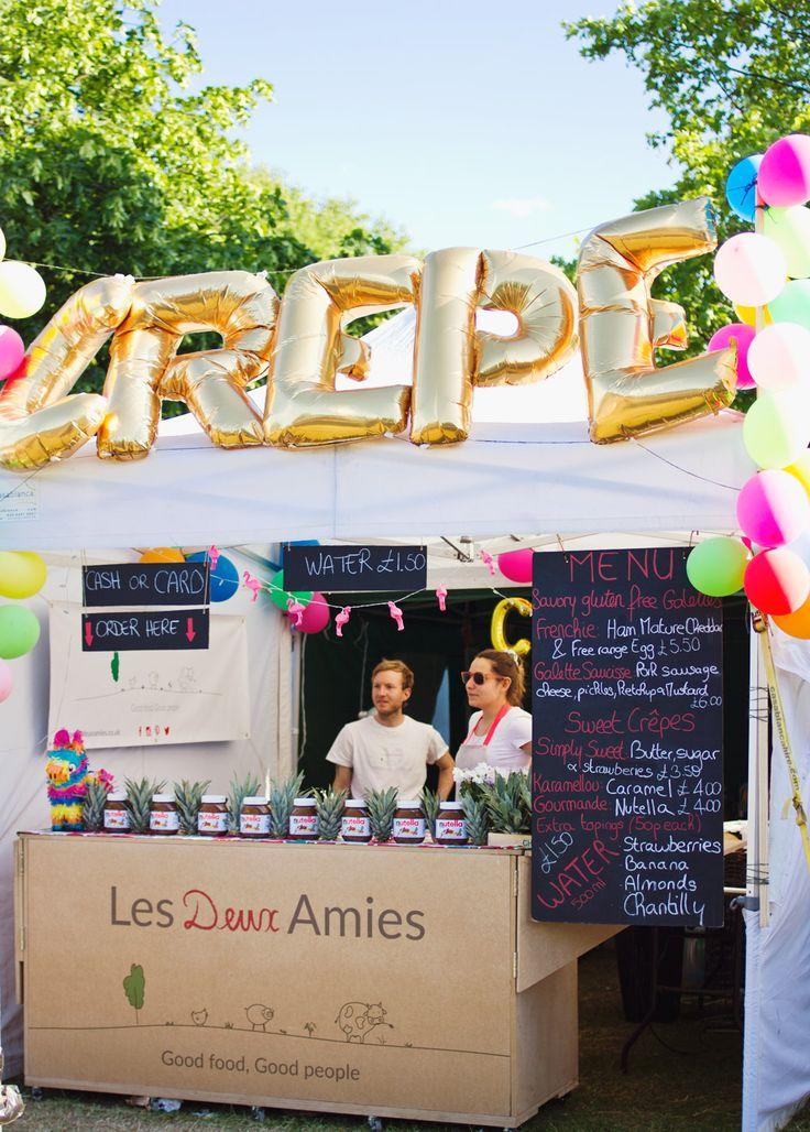 crepe stand field day london 2015 victoria park festival