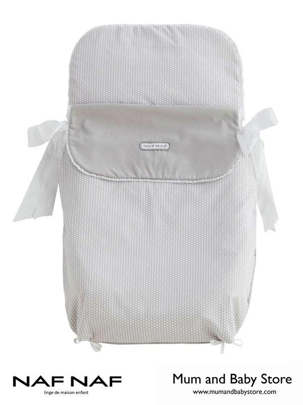 Quilted pram sleeping bag NAF NAF - LOVE GREY