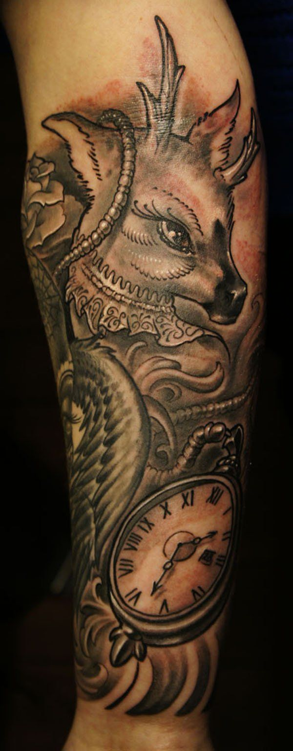 50 meaningful tattoo ideas art and design - 50 Awesome Animal Tattoo Designs