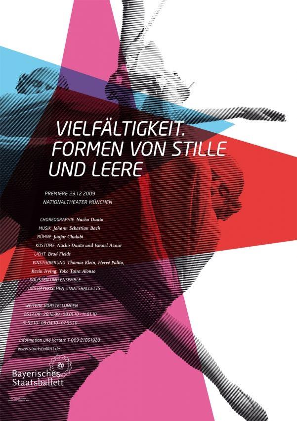 Fons Hickmann M23 - Bayerisches Staatsballett - Bayerisches Staatsballett, Bayerische Staatsoper, Music, Musik, Plakate, Poster