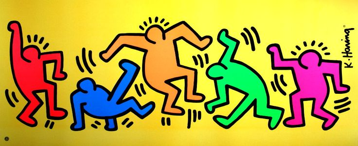 keith haring artist - Google Search