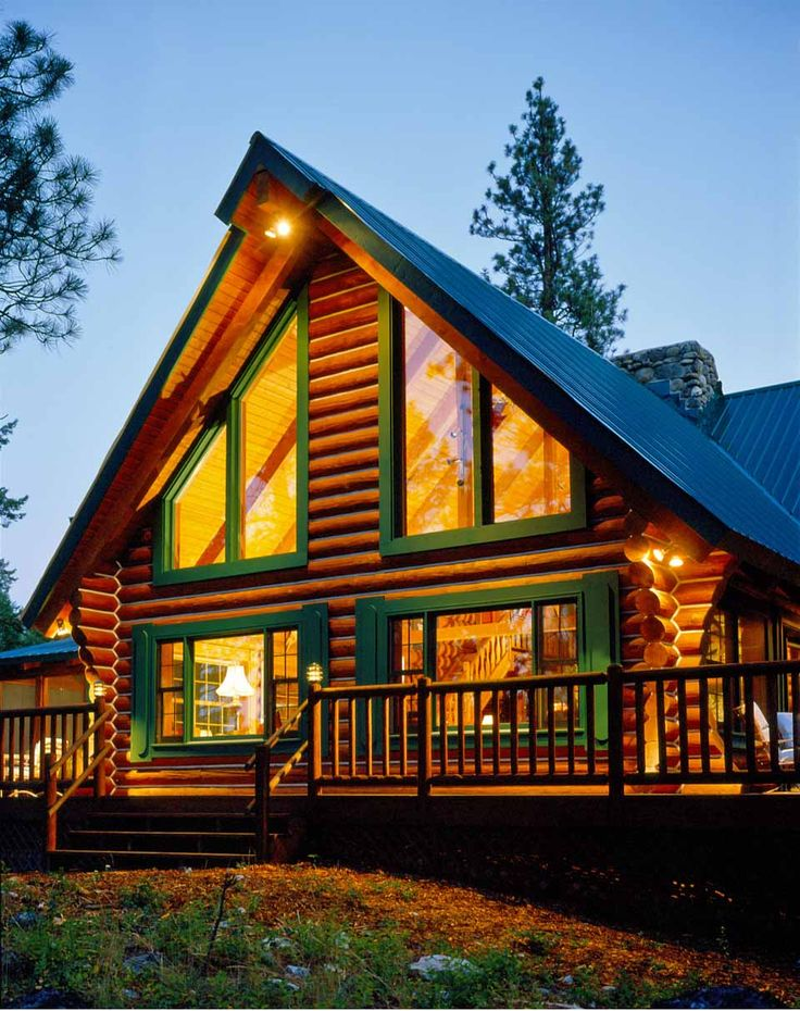 Rocky Mountain Log Cabin The Cabin Pinterest