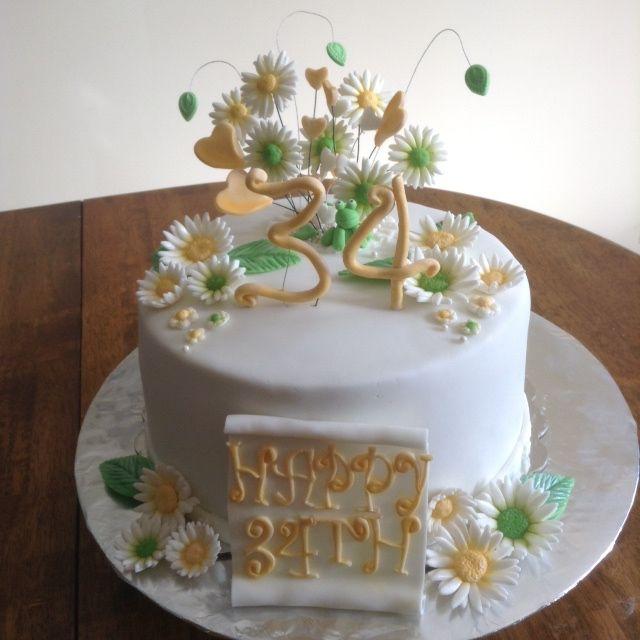 34th Anniversary Cake