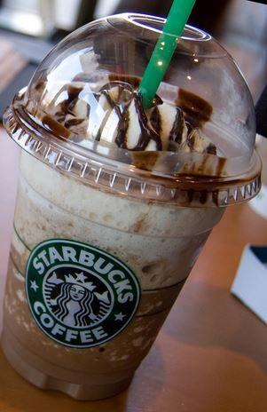 Ferrero Rocher Frappuccino! Recipe here: http://starbuckssecretmenu.net/starbucks-secret-menu-ferrero-rocher-frappuccino/