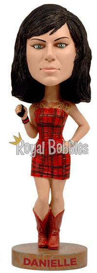 "Danielle from History Channel's hit show ""American Pickers."" #Bobblehead #RoyalBobbles"