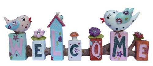 Standing Word - Birdy Welcome $16