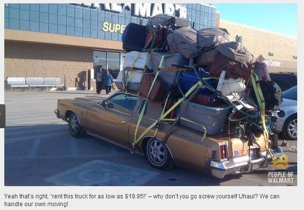 Shopping at Walmart can certainly be an experience. Click to see 22 of the funniest photos of People Of Walmart.