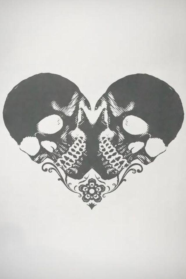 Scull heart