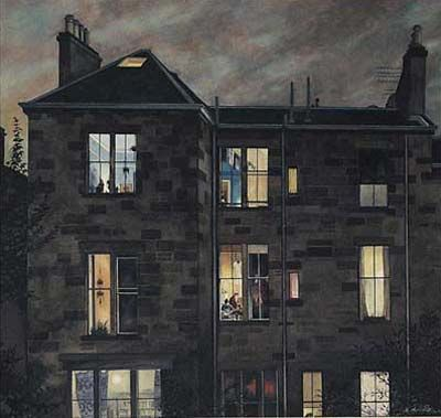 Avril Paton - September (?) - Glasgow artist.