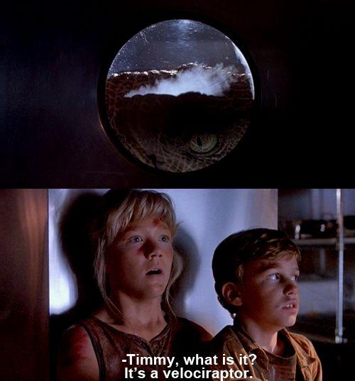 Jurassic Park (1993)  I loooove the whole series!