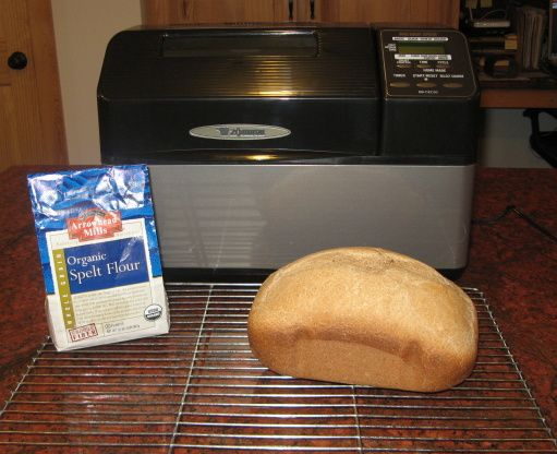 Basic Spelt Bread for Oven or Bread Machine