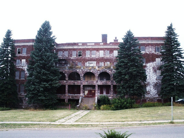 an Old Abandoned Orphanage in Marquette, MI. (this has a heroic and courageous history saving children from around the United States.