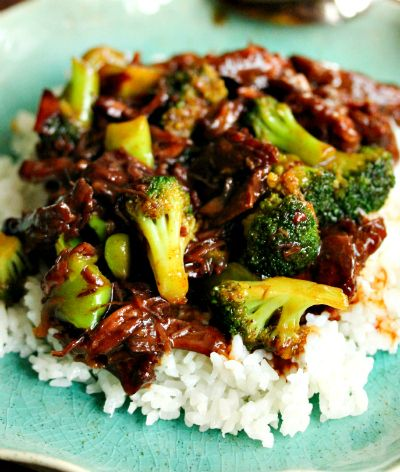 Table for Two » Crockpot beef & broccoli