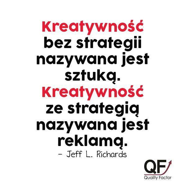 """Potrzebujesz kreatywnej strategii #marketingowej? """"Uszyjemy"""" ją na miarę Twoich potrzeb! ➡ http://q-f.pl/"""