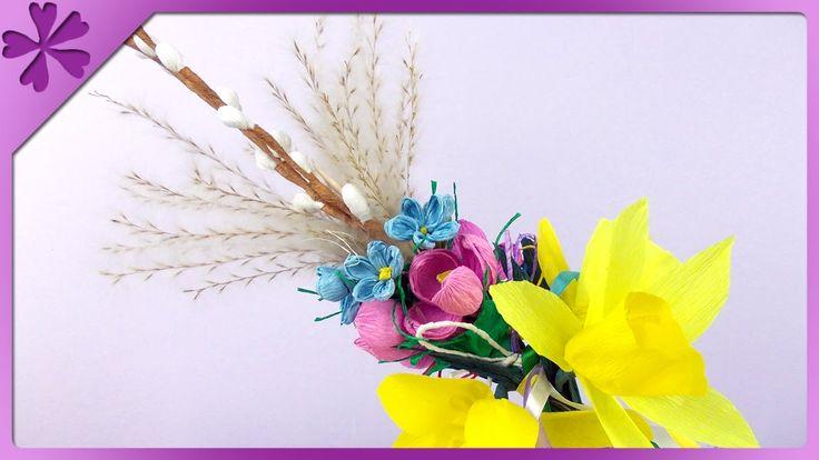DIY Palma wielkanocna / Easter palm, Easter decoration (+ENG Annotations...
