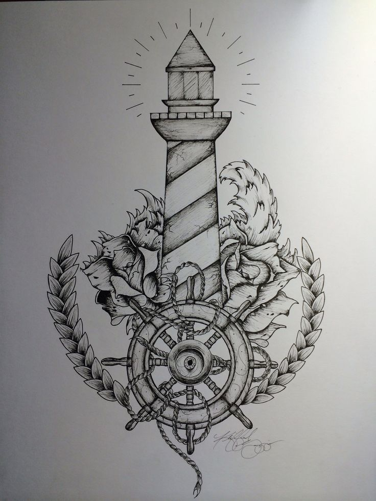 Tattoo inspiration... Lighthouse Tattoo