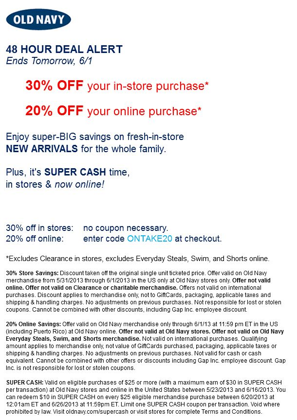 17 best sports authority coupon images on pinterest coupon old navy coupon old navy promo code from the coupons app off at old navy or online via promo code december fandeluxe Images