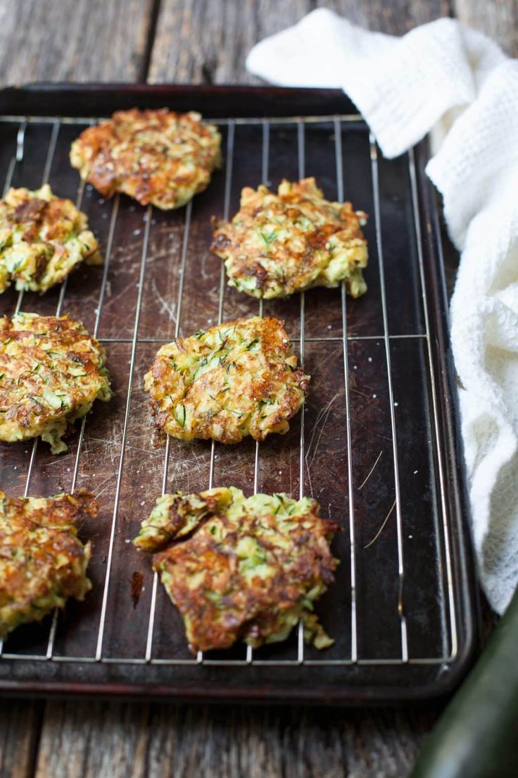 Extra zucchini on hand? These fried zucchini cakes are the best I've EVER had (and I've tried a lot!)