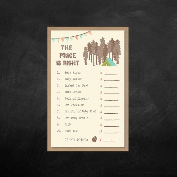 Instant Downloadable The Price is Right by BlissfulPrints on Etsy