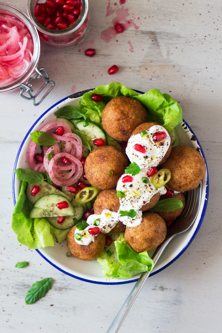 Pumpkin kibbeh is a vegan version of a traditional Arabic dish. Crispy bulgur wheat shell hides a spicy pumkpin and chickpea filling. Can be fried or baked.