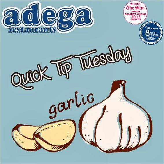 Quick Tip Tuesday - Garlic