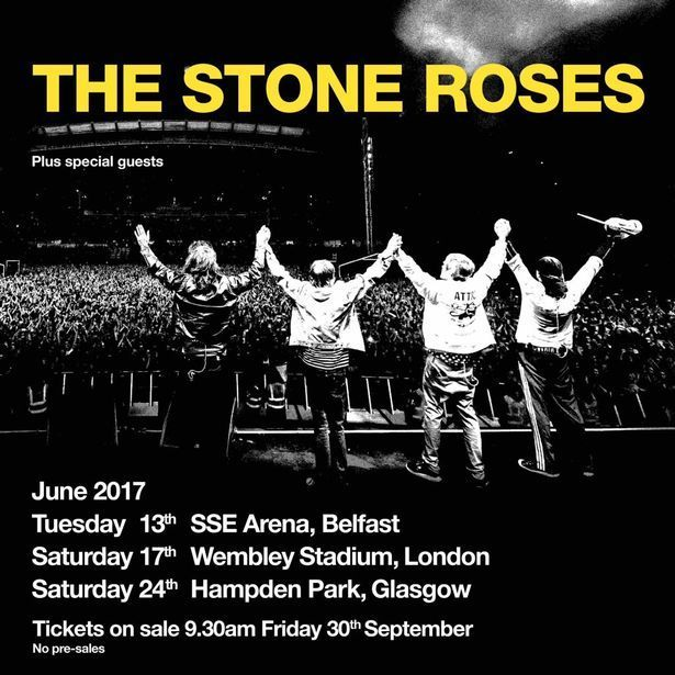 Image result for stone roses wembley support