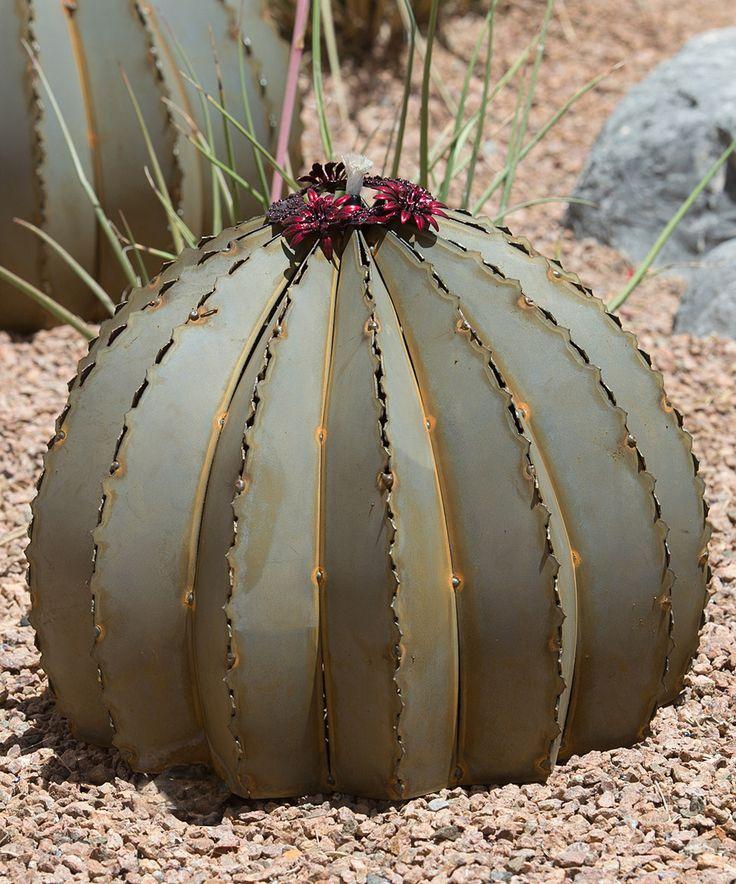 Look what I found on #zulily! Golden Barrel Cactus Torch by Desert Steel #zulilyfinds