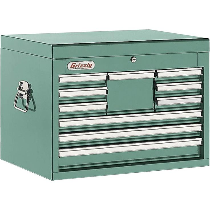 10 Drawer Full Depth Tool Chest | Grizzly Industrial