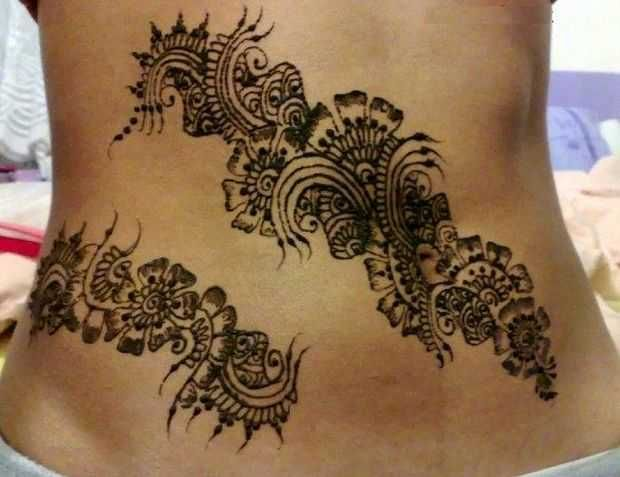 Mehndi Real Tattoo : 8 best henna tattoo ideas images on pinterest cool