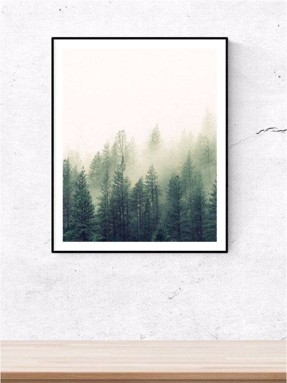 Forest print, forest, forest prints, tree print, tree prints,  nature prints, nature photography, nature art, prints, printable artwork, by nordicprint