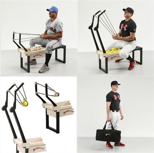 Sling Pitcher Baseball Softball Pitching Machine