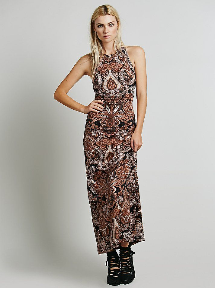 Novella Royale Midnight Rambler Dress at Free People Clothing Boutique /// $176.00