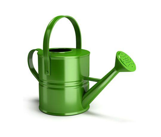 jardinera metlica verde
