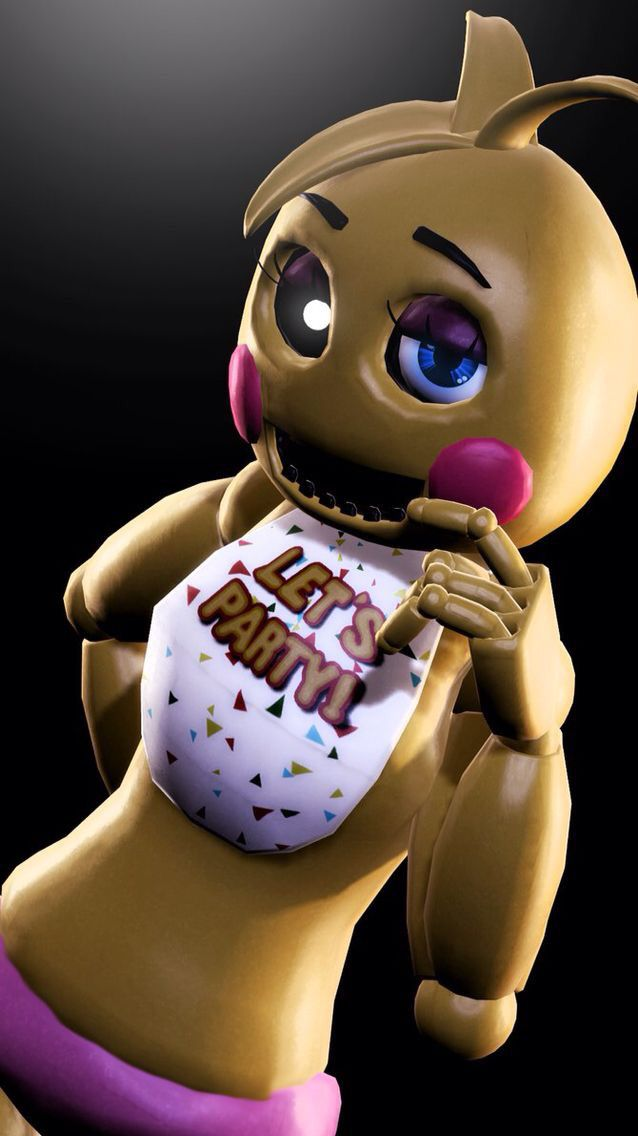 Toy Chica SHE is a  toy animatronic hang's out with Chica and like's to party! but you don't what to get her mad!.....( Open )