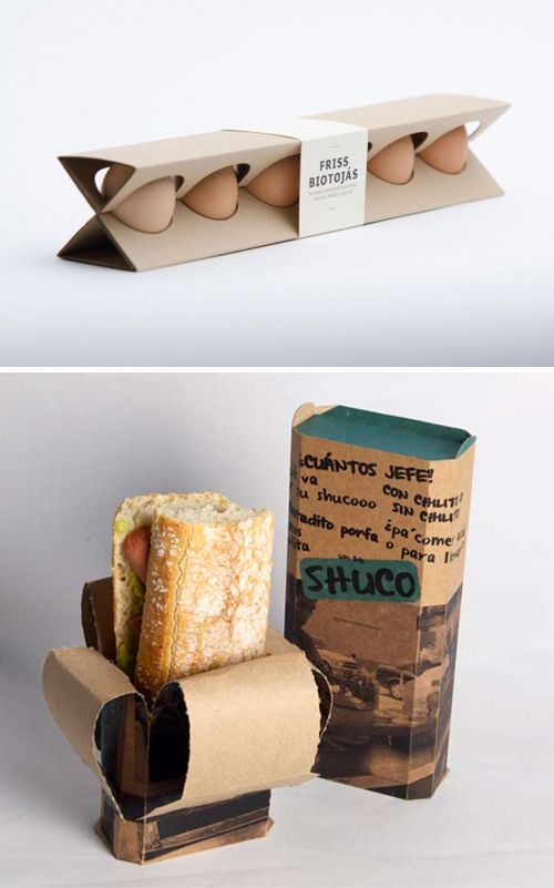 Canton board food packaging design