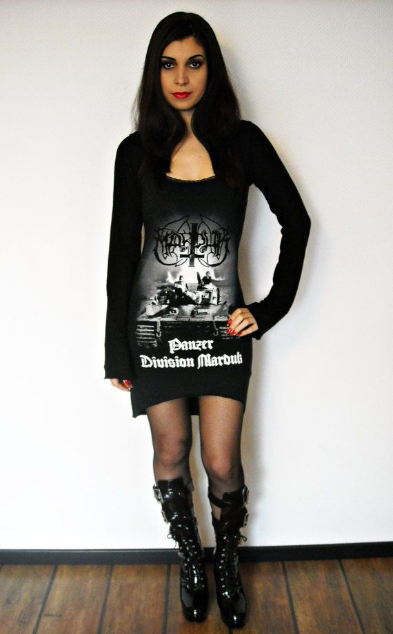 Etsy site for black metal dresses. $80 https://www.etsy.com/listing/216348416/marduk-shirt-hoodie-hooded-tunic-top?ref=shop_home_active_7
