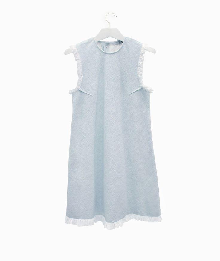 Frayed woven dress by Alexander Wang #arropame #conceptstore #bilbao #ss2016 #AlexanderWang #fashion #shoponline #shopping #trendy #style http://arropame.com/coleccion-completa-alexander-wang-ss16/